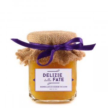 Sicilian citrus fruits jam