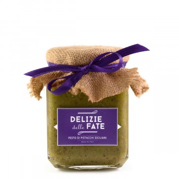 Pistachios pesto of Sicily