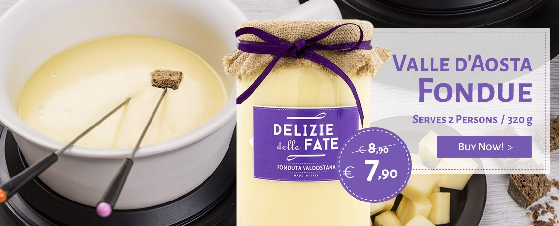 Buy online the Valle d'Aosta Fondue