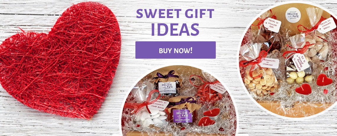Valentine's Day... sweet offers from Delizie delle Fate